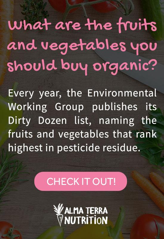 Fruits & Vegetables High in Pesticides