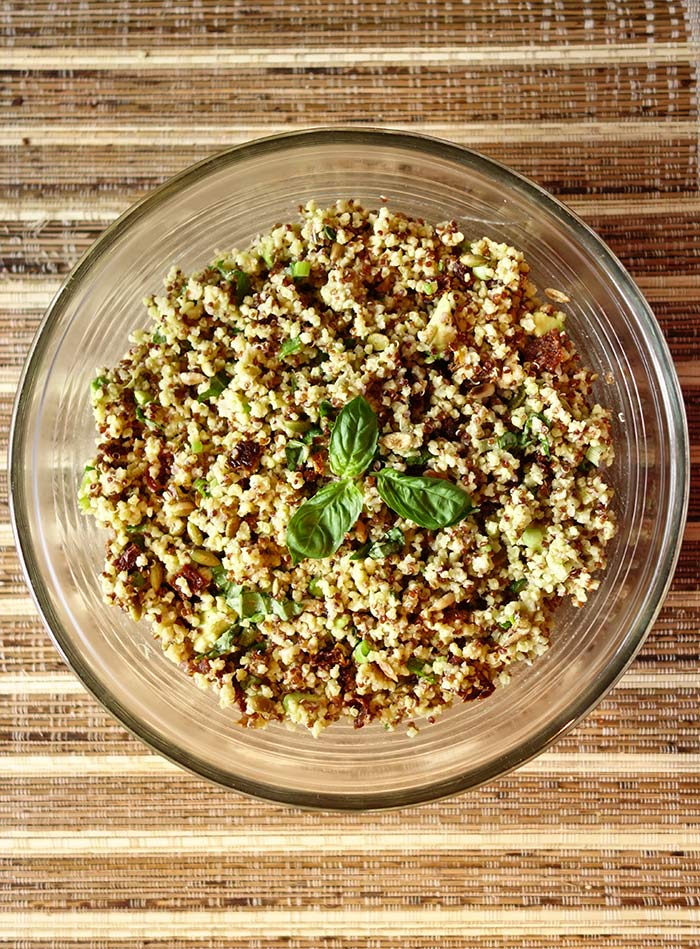 Recette Salade de Quinoa Avocat
