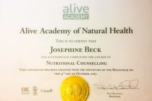 Certified Nutritional Counsellor Diploma - Alive Academy, Vancouver, Canada