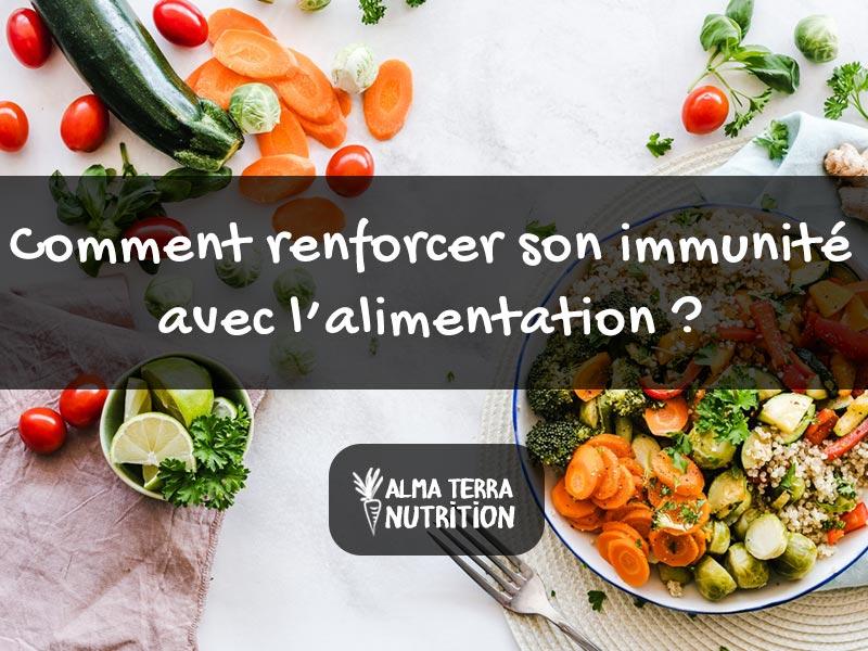 immunité et alimentation