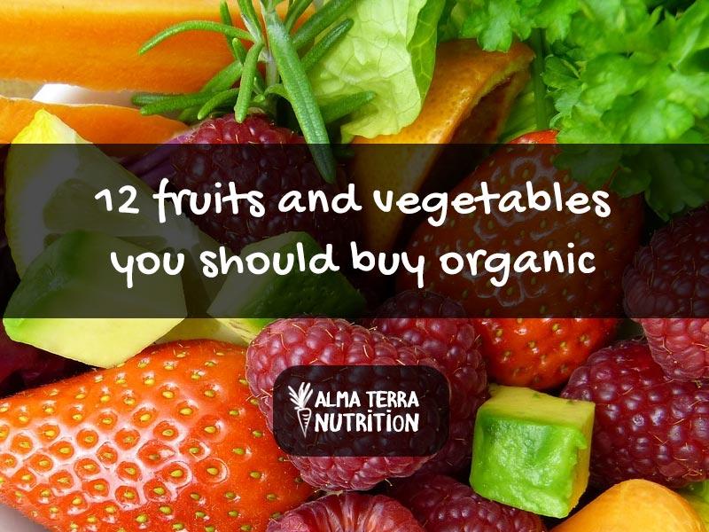Fruits Vegetables Best Organic
