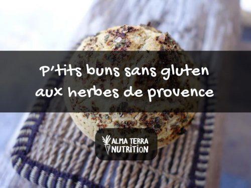 Recette P'tits Buns Sans Gluten