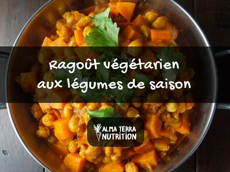 Ragoût Végétarien aux Légumes et Pois chiches